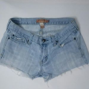 Abercrombie & Fitch low-rise denim shorts size 4